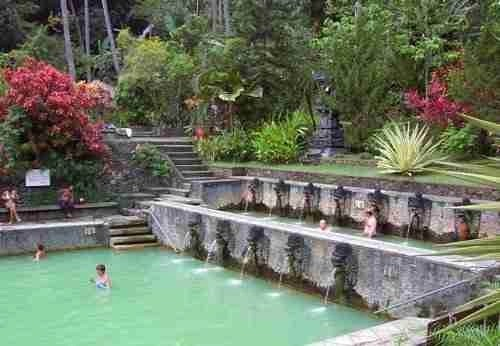Hot Spring in Bali Indonesia