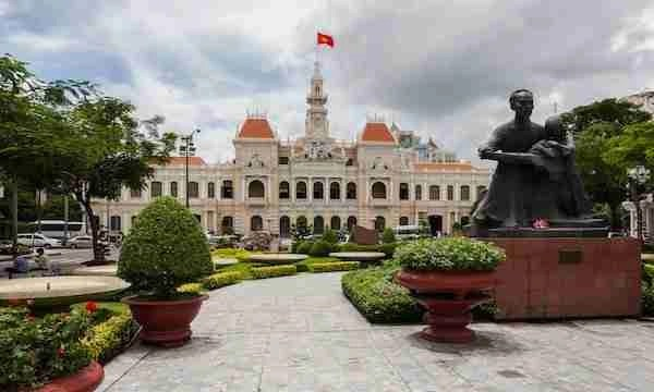 Ho Chi Minh City Hall Vietnam