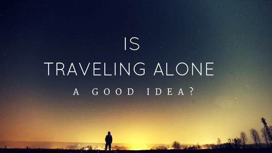 Is Traveling Alone good idea Logo