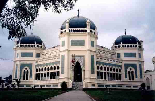 Mesjid Raya Mosque in Medan