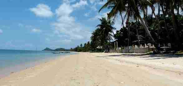 Lipa Noi Beach in Koh Samui