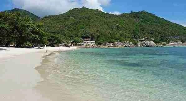 Silver beach in Koh Samui