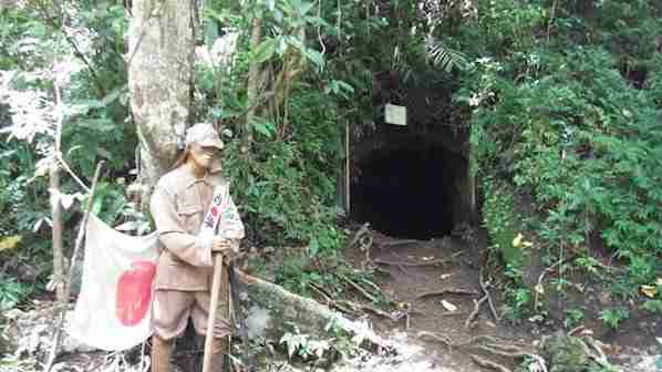 Japanese tunnel in Legazpi