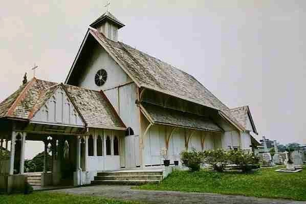 All Saints Church in Taiping