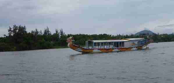 Boat Tour at The Perfume River