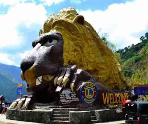 Lions Head In Baguio