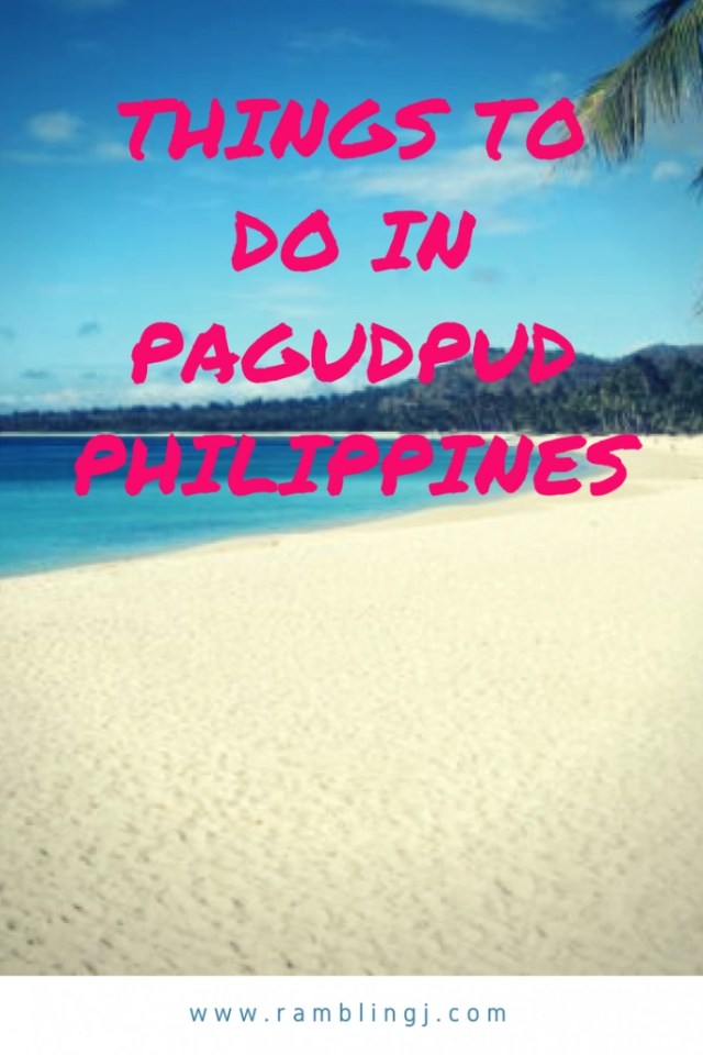 The Dummies' Guide Of Things To Do In Pagudpud Philippines.