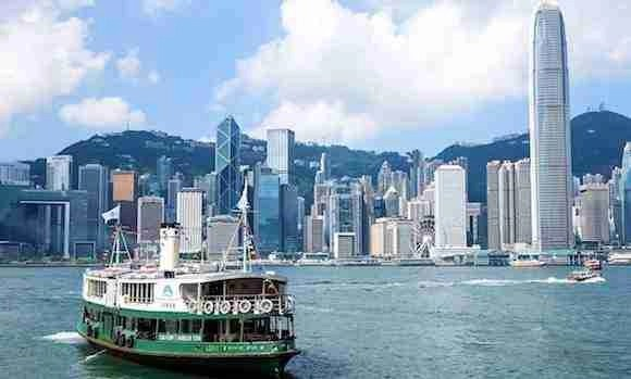 Ride the Star Ferry in Hong Kong