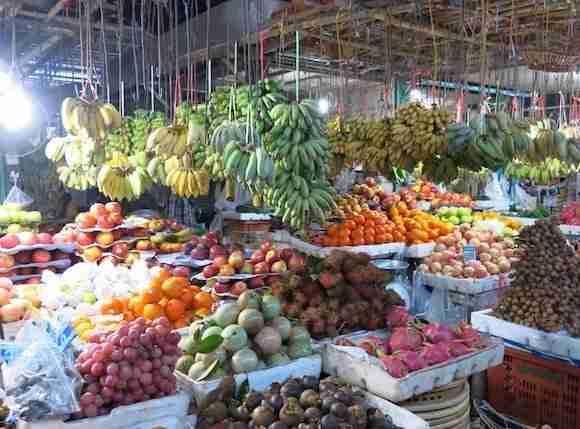Markets in Sihanoukville
