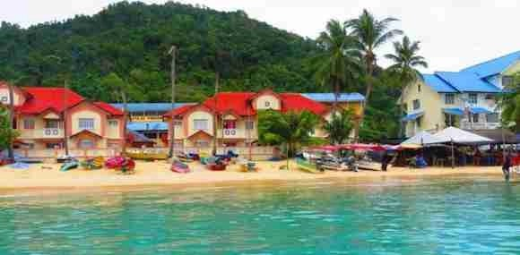 Fisherman Village on Perhentian Island