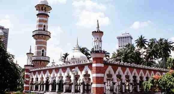 Jamek Mosque in Malaysia