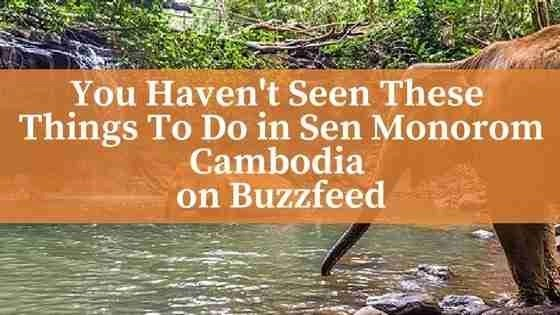 You Haven't Seen These Things To Do in Sen Monorom Cambodia on Buzzfeed