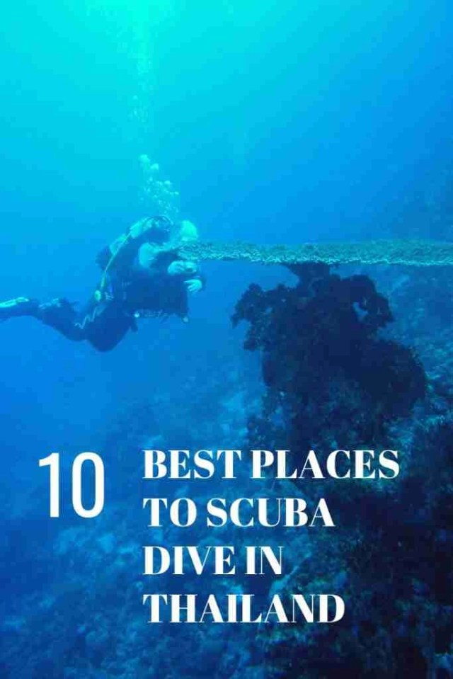 10 Best Places To Scuba Dive in Thailand