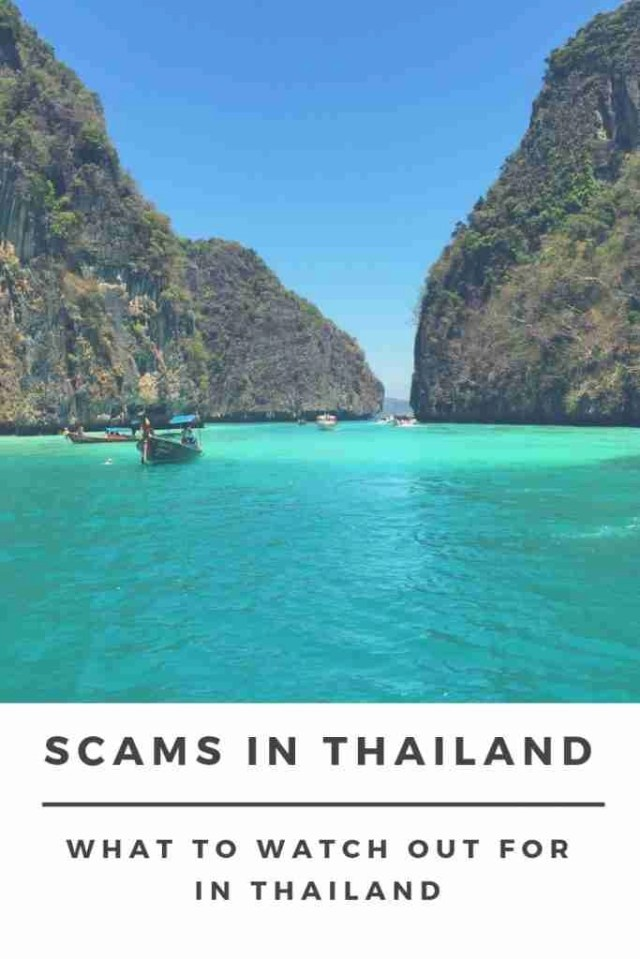 What to Watch Out for in Thailand : Scams in Thailand