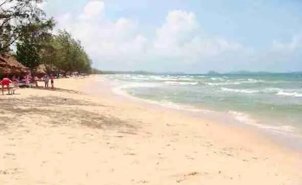 Otres Beach in Sihanoukville Cambodia