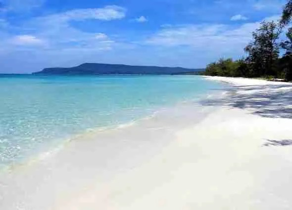Long Beach Koh Rong in Cambodia