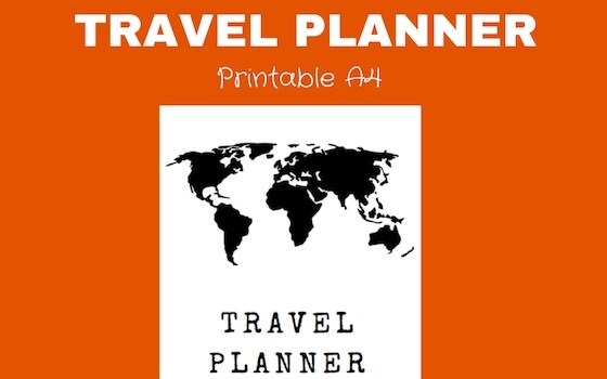 Ramblingj Printable Travel Planner