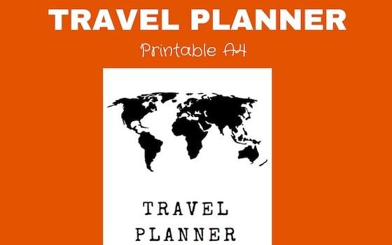 Ramblingj Printable Travel Planner