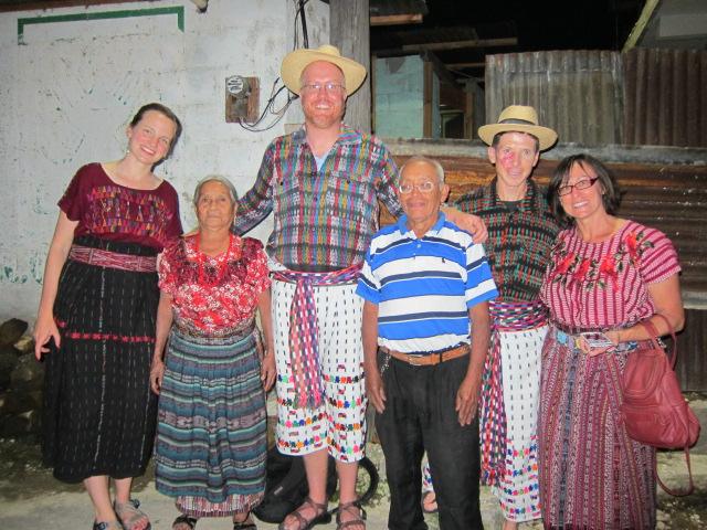 Vila's family.