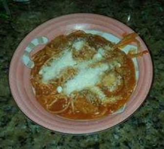 Instant Pot pasta and meatballs recipe.