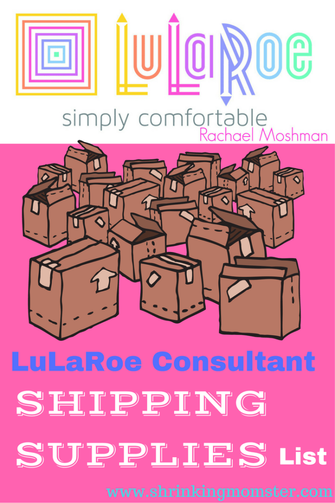 lularoe consultant shipping supplies