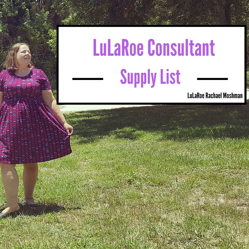 Lularoe Consultant Start Up Supplies List Rambling Rach