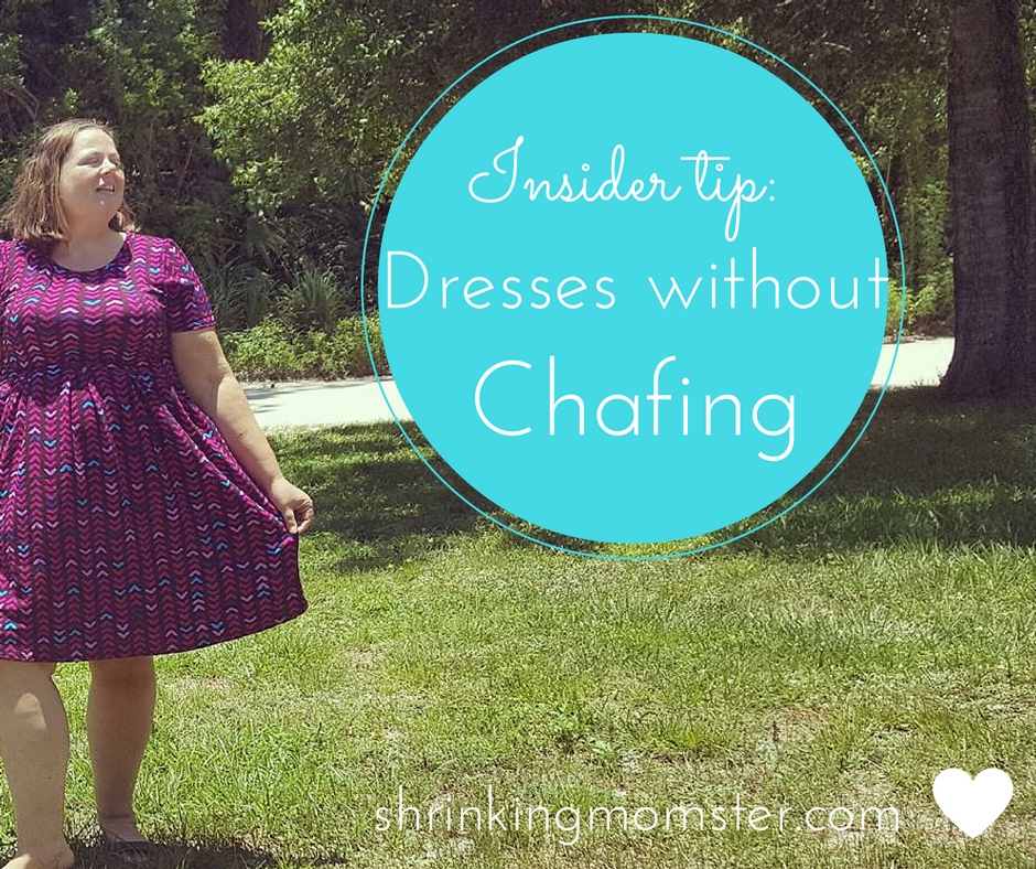 Dresses without chafing: an insider tip