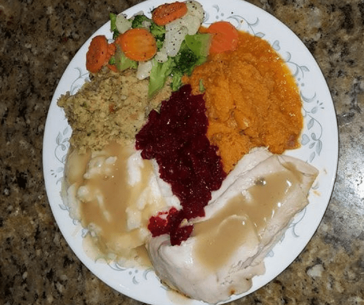 store-bought holiday feast