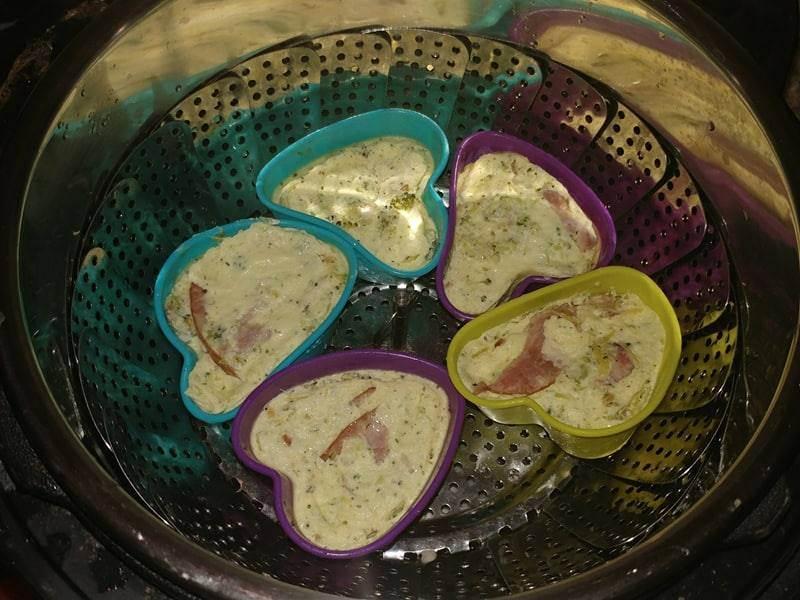 Sour vide egg bites in Instant Pot
