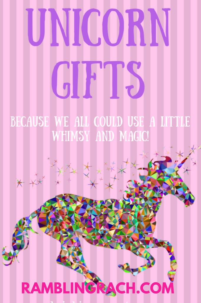 Unicorn gifts for everyone in your life!