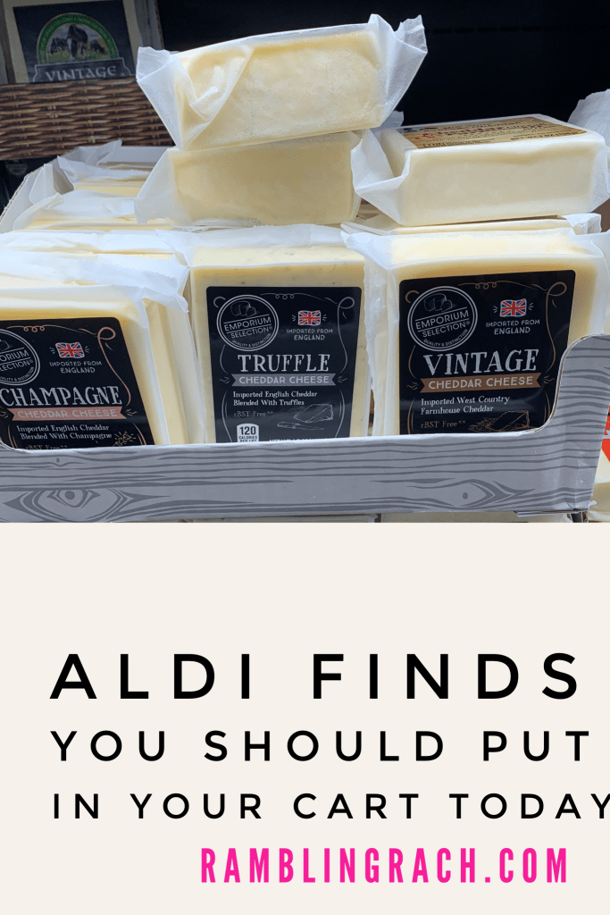 Aldi cheese is BOMB!
