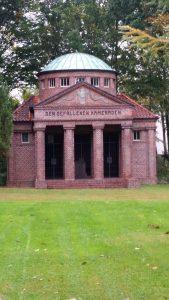 Monument to fallen German soldiers in Oldenburg