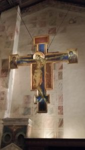 "Crucifix in the Medici Chapel. I really want to call it ""MediJesus"""