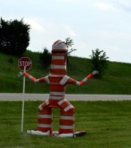 Barrel Bob - we saw this in KC - check it out, he has a FB page