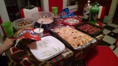 Christmas Eve goodies