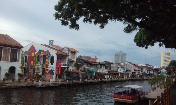 Malacca painted/graffiti houses