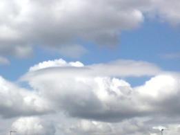Clouds...'head in the clouds'