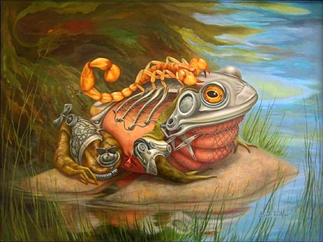 scorpionfrogsteampunk