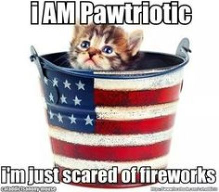 Probably because the pail you're in is used to light fireworks.