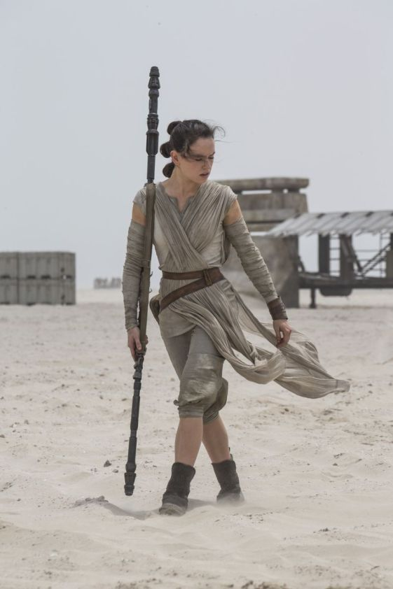 Rey can hold my light saber anytime! Grrrr.