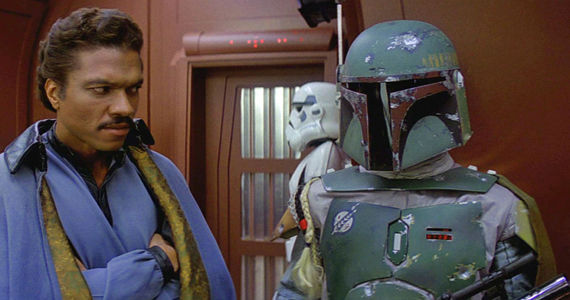 I can't wait to revisit Cloud City... oh wait, J.J.'s renamed it FOG TOWN. Cause it floats in the fog...
