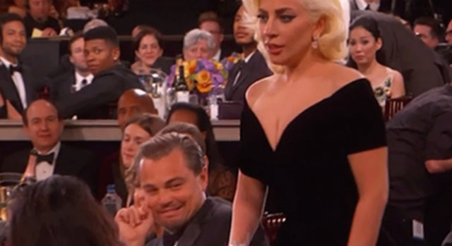 The irony is that Lady Gaga was good in American Horror Story. Leo missed it because he was fighting a bear.
