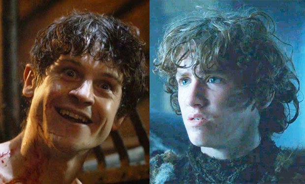 Rickon is about to be the guest star of a serious episode of OZ.