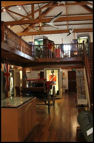 Jamestown Museum - Interior