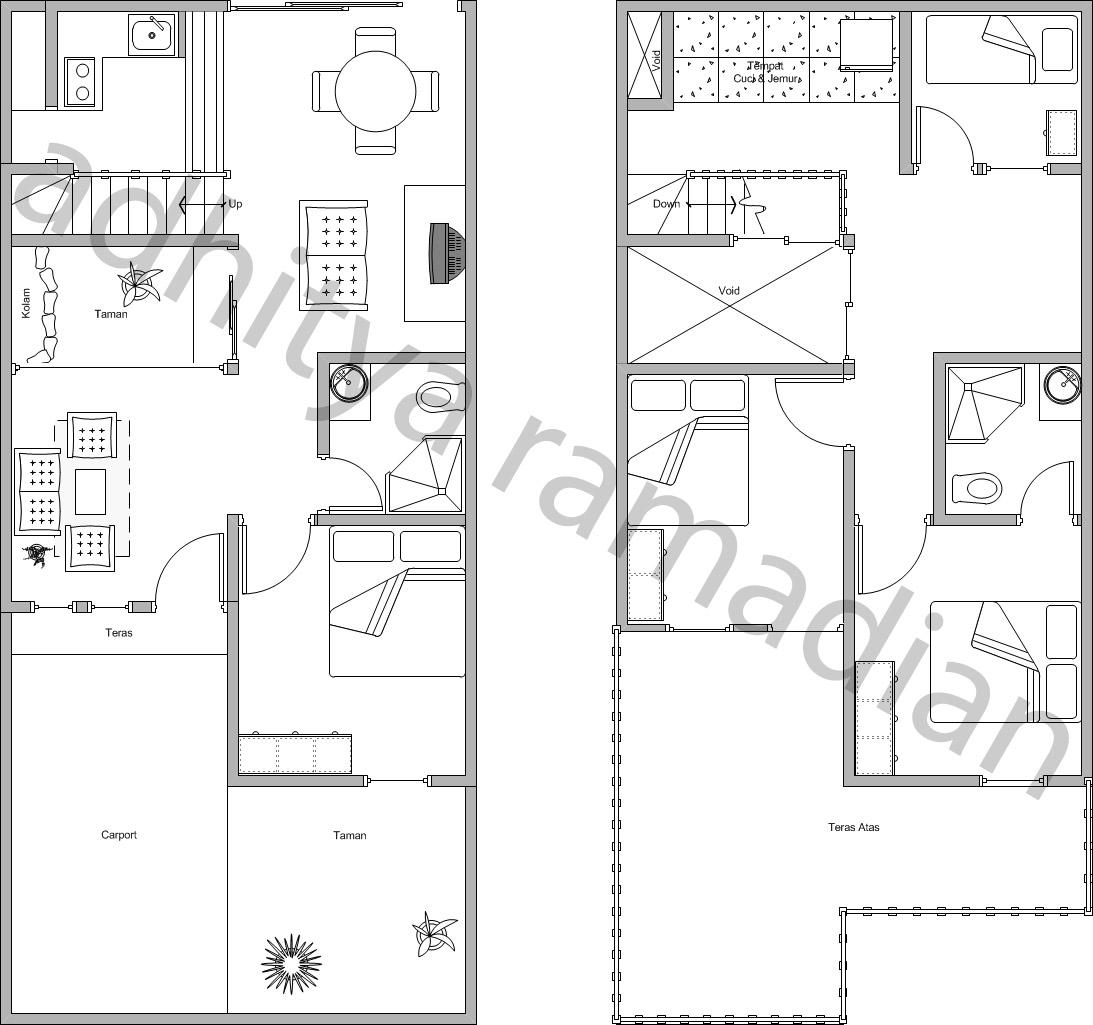 Gambar Cara Membuat Denah Rumah Dengan Microsoft Visio