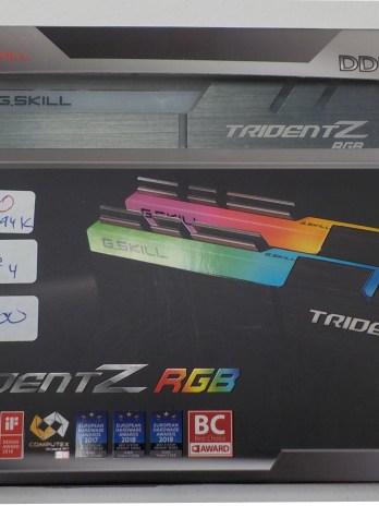 G.Skill TridentZ RGB Ram