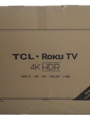 43″ TCL Roku Smart TV