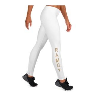 Leggings Stretching donna bianchi