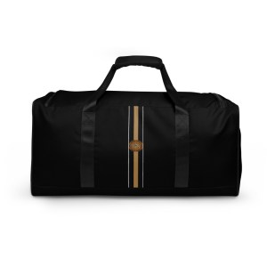 Duffle bag black borsone