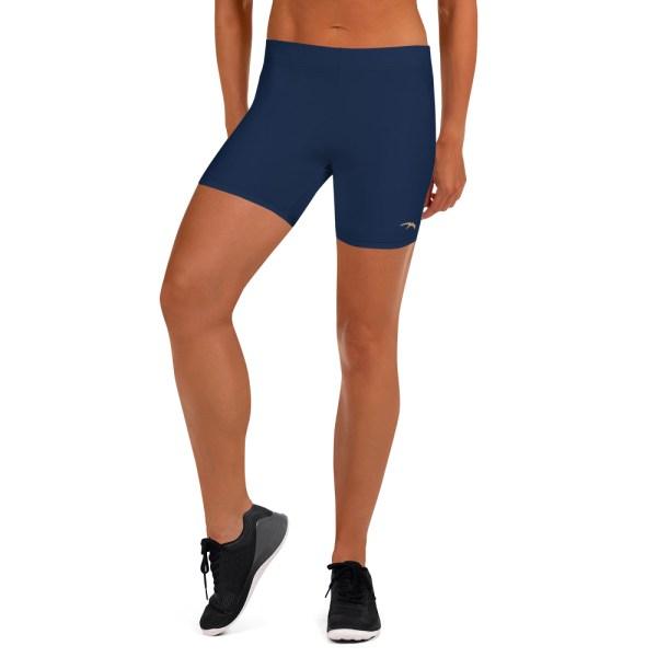 Pantaloncino donna short navy elasticizzato